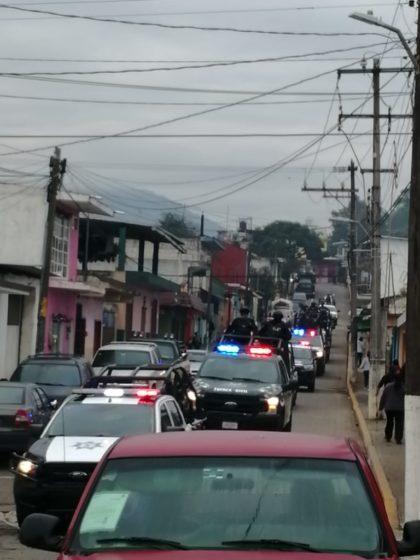 MANTIENEN ACCIONES PARA REFORZAR LA SEGURIDAD EN LA ZONA.