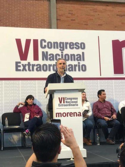 ALFONSO RAMÍREZ CUELLAR, NUEVO PRESIDENTE INTERINO DE MORENA.