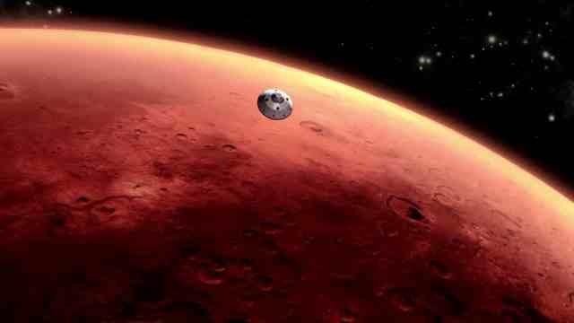 NASA DESCUBRE LA PRESENCIA DE TERREMOTOS EN MARTE