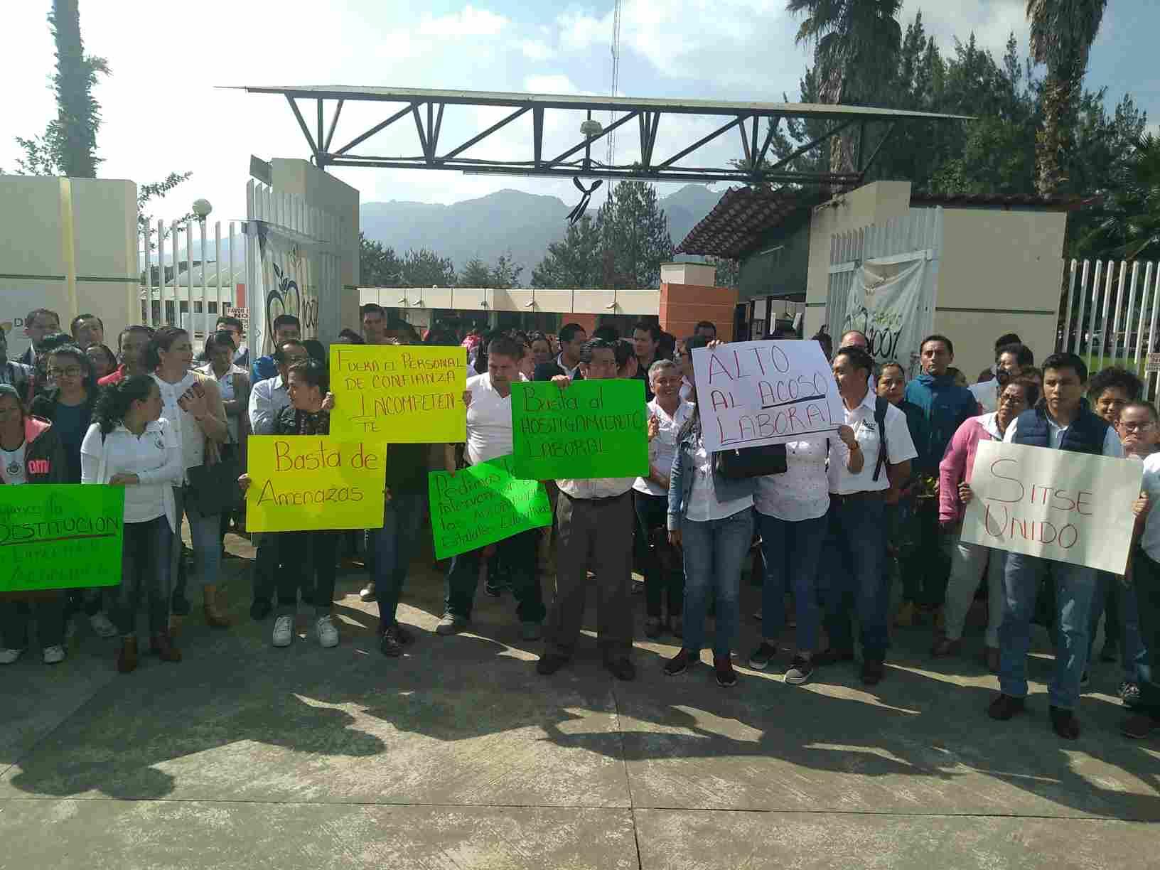 PROTESTAN EN TEC DE HUATUSCO