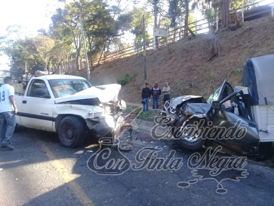 ACCIDENTE EN HUATUSCO