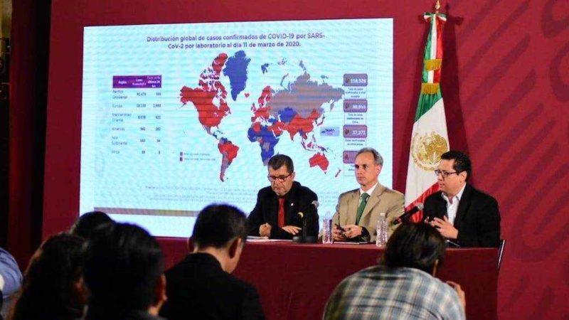 CONFIRMA SECRETARÍA DE SALUD 12 CASOS DE CORONAVIRUS EN MÉXICO