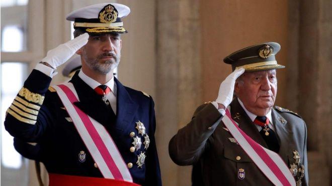 FELIPE VI, REY DE ESPAÑA, RENUNCIA A LA HERENCIA DE SU PADRE, JUAN CARLOS I