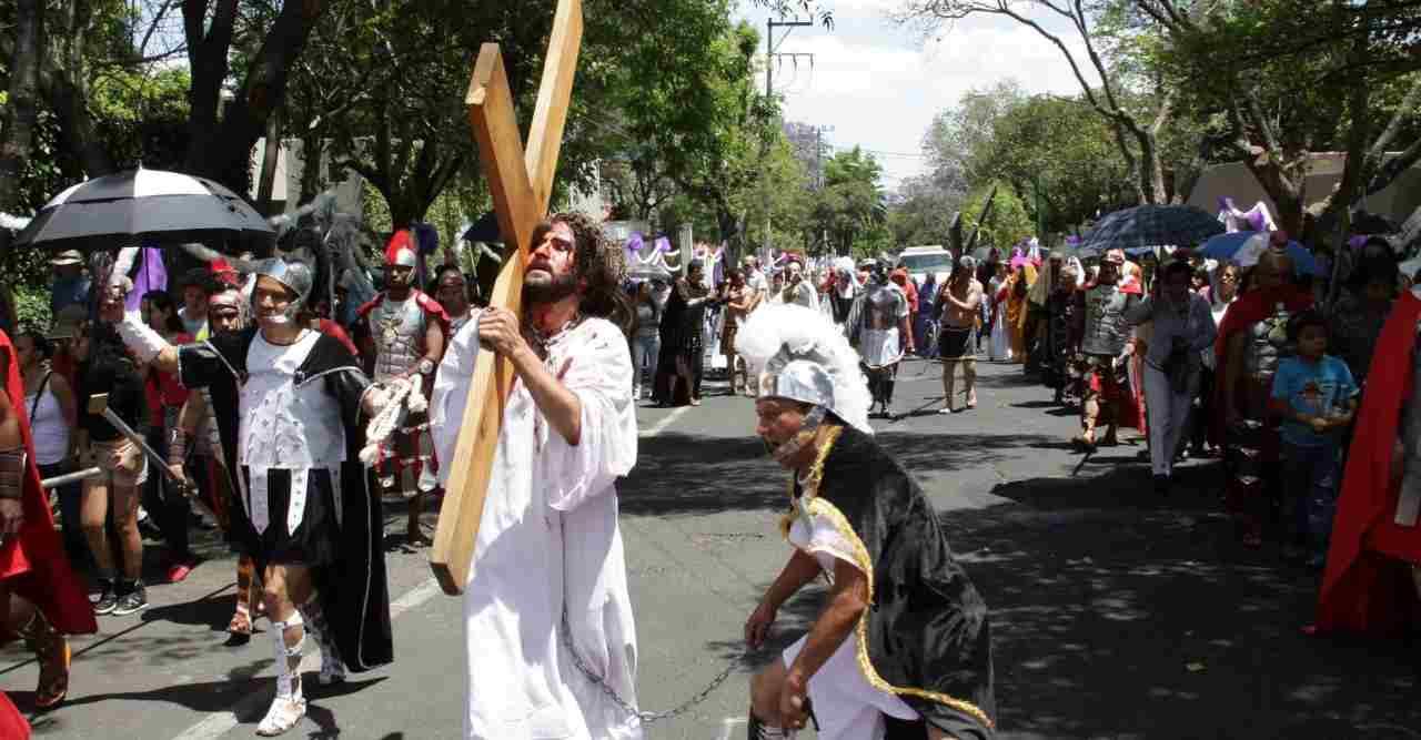 REALIZARÁN PASIÓN DE CRISTO DE IZTAPALAPA A PUERTA CERRADA POR CORONAVIRUS