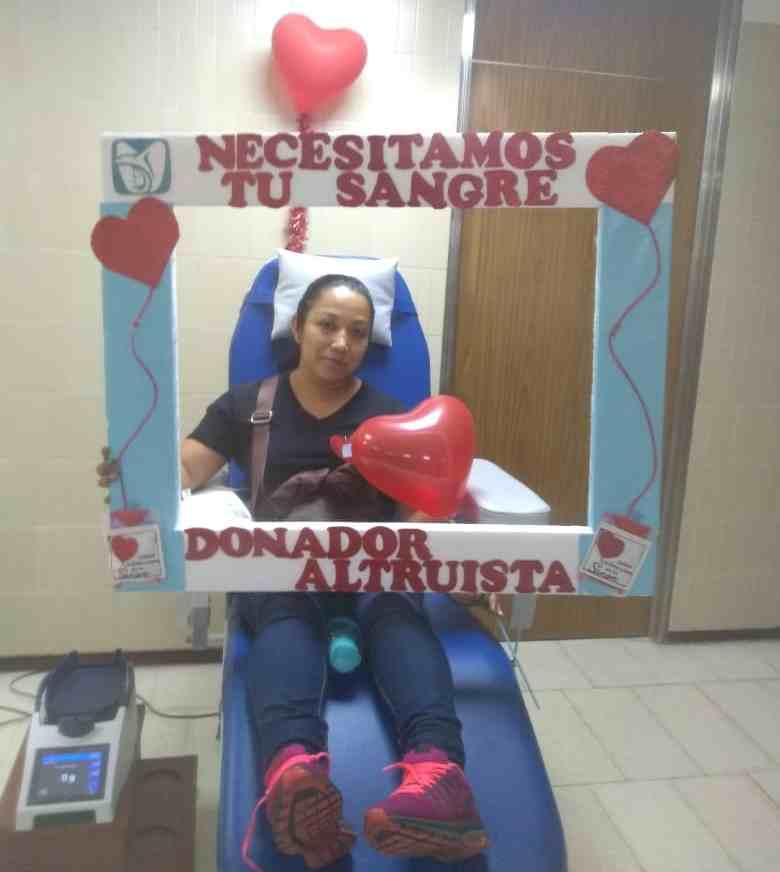 PARTICIPAN MÁS DE 100 EN JORNADA DE DONACIÓN DE SANGRE