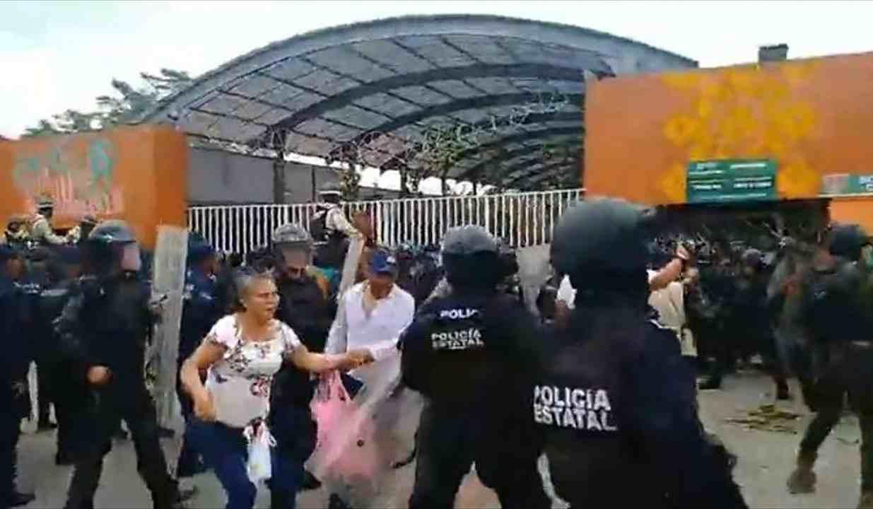 CAMPESINOS DETENIDOS EN ENFRENTAMIENTO EN CUMBRE TAJÍN FUERON TORTURADOS