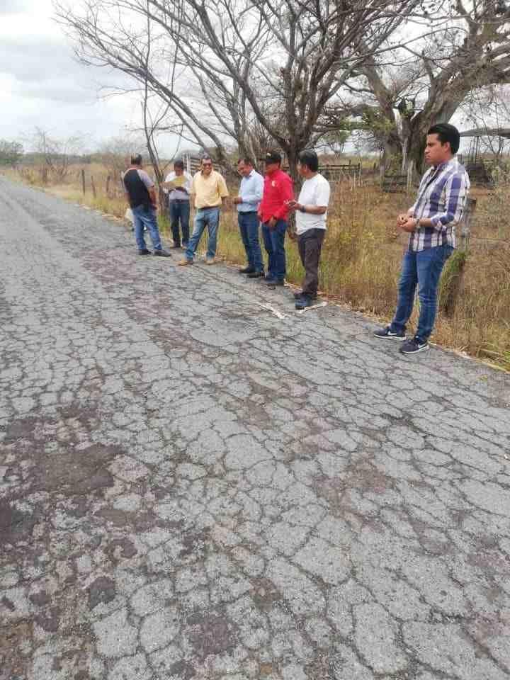 PAVIMENTARÁ SCT 2 KILÓMETROS DE CARRETERA EN COMAPA