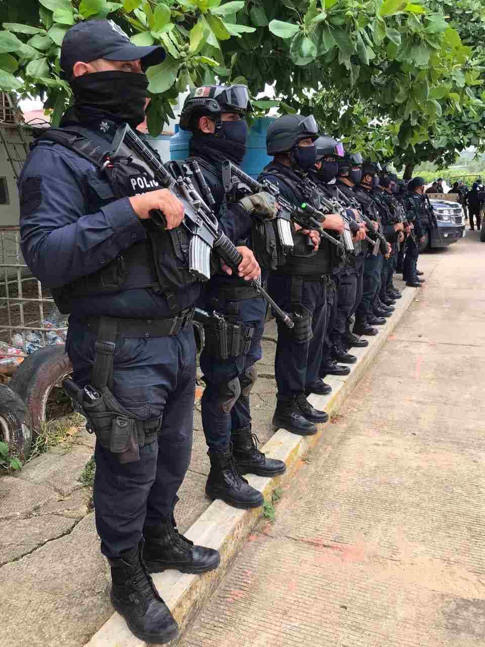 MANDAN MÁS POLICIAS AL SUR DEL ESTADO