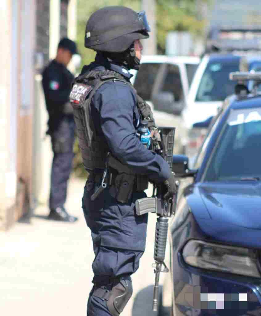 SE MOVILIZA POLICÍA POR FALSO SECUESTRO