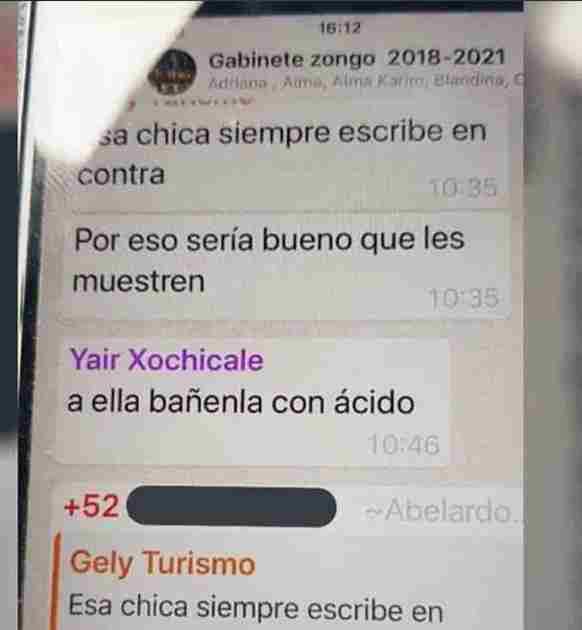 DIRECTOR DEL DIF SUGIERE ECHARLE ÁCIDO A MUJER