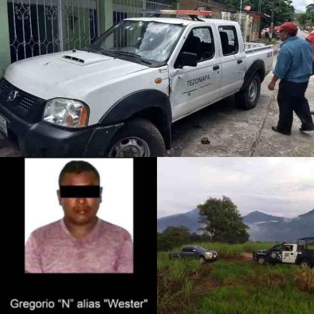 """""""EL WESTER"""" INVOLUCRADO EN MASACRE DE POLICÍAS DE TEZONAPA"""