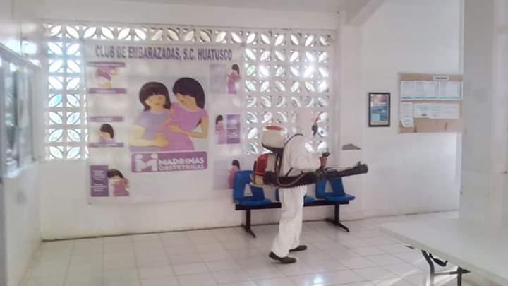 SANITIZAN CENTRO DE SALUD DE HUATUSCO