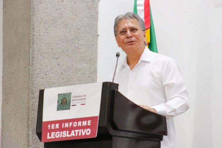 ELEUTERIO ARRIETA, DE ADORNO EN EL CONGRESO