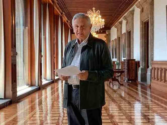 LÓPEZ OBRADOR PRESENTA DECÁLOGO ANTE NUEVA REALIDAD POR EL COVID-19