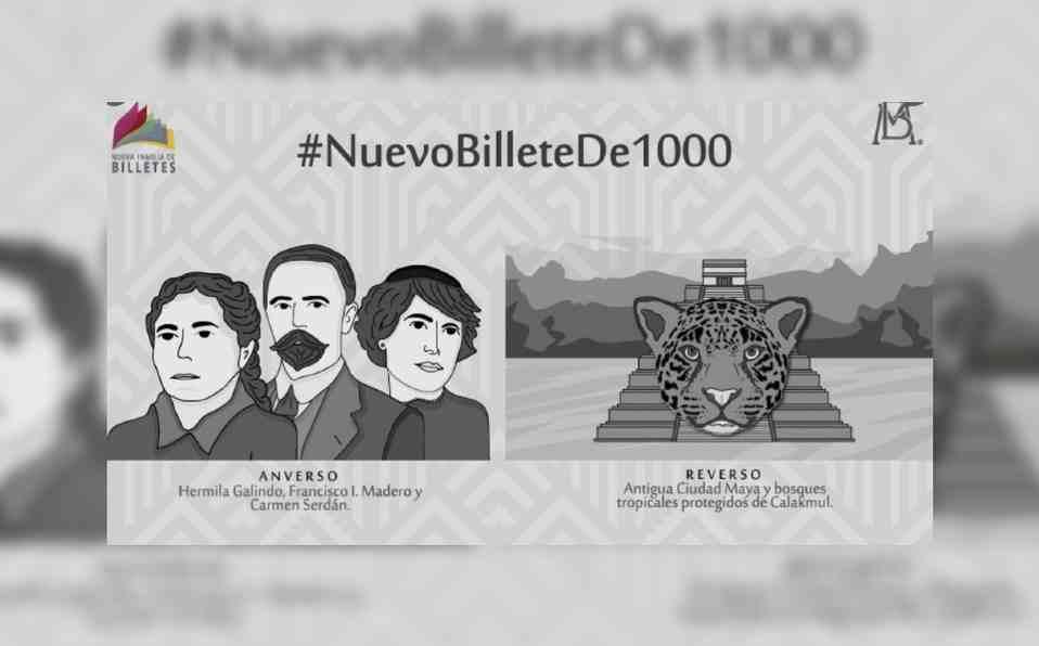 SALDRÁ NUEVO BILLETE DE MIL PESOS A PARTIR DE JULIO
