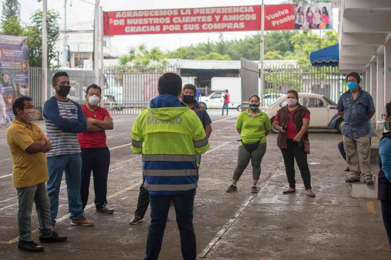 LEVANTAN CUARENTENA EN TIANGUIS DE FORTÍN