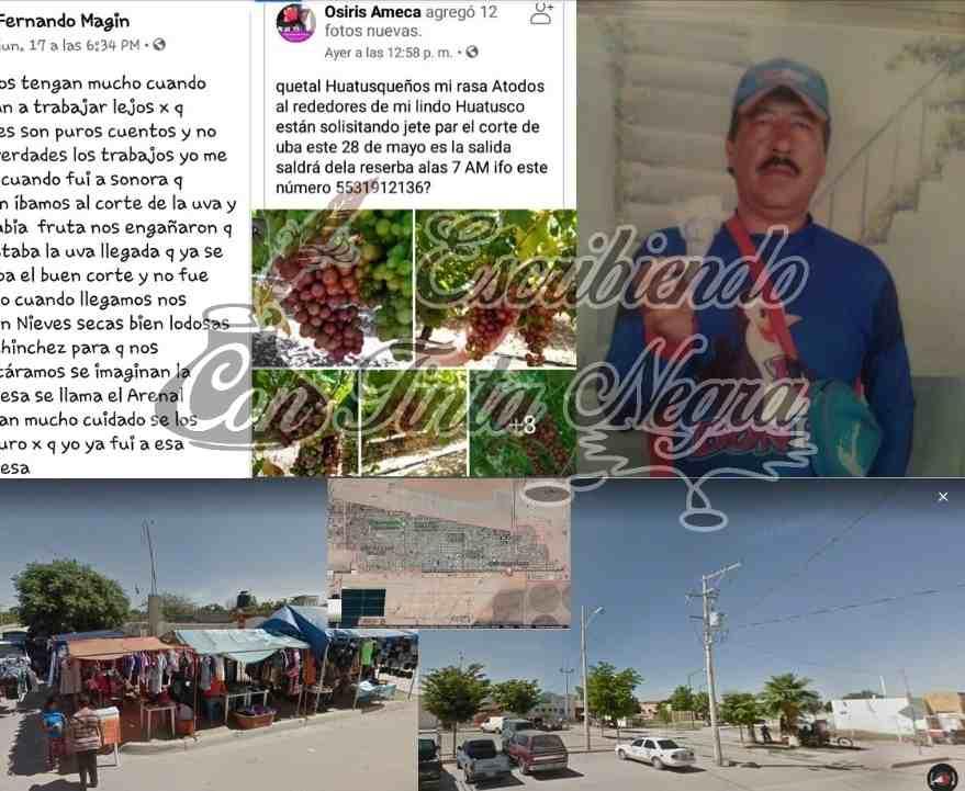 """ALERTAN POR """"ENGANCHADORES"""" DE JORNALEROS AGRÍCOLAS"""