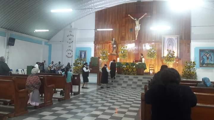 SUSPENDEN CELEBRACIONES EN TEMPLO DE IXHUATLÁN