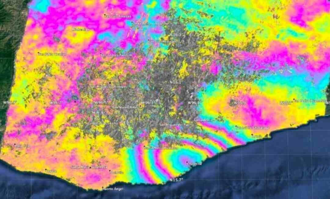 EL SISMO DE OAXACA DESPLAZÓ A MÉXICO .45 METROS: NASA