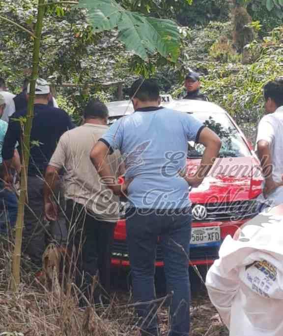 ROBAN TAXI EN HUATUSCO; LO RECUPERA LA POLICÍA