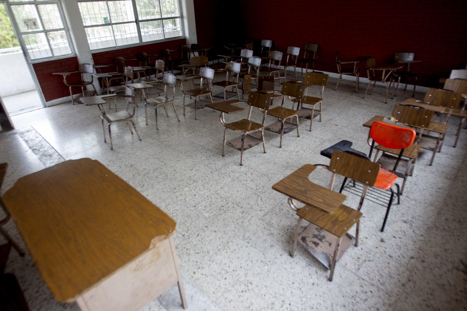 SUSPENDEN REGRESO A CLASES EN VERACRUZ