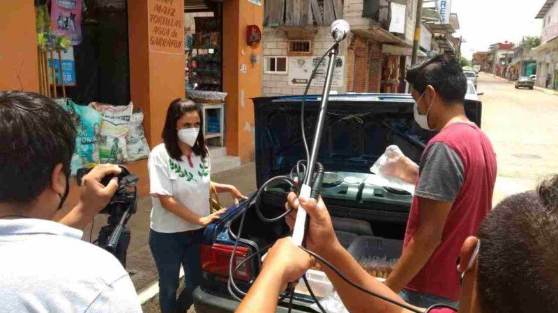 EMPRENDEN CAMPAÑA DE CONSUMO LOCAL EN IXHUATLÁN