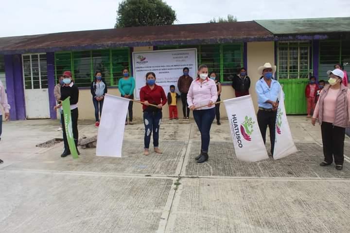INICIAN OBRAS EN ESCUELAS DE HUATUSCO