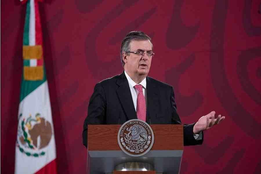 MÉXICO PROPONE A EEUU EXTENDER UN MES MÁS CIERRE PARCIAL DE FRONTERA: EBRARD