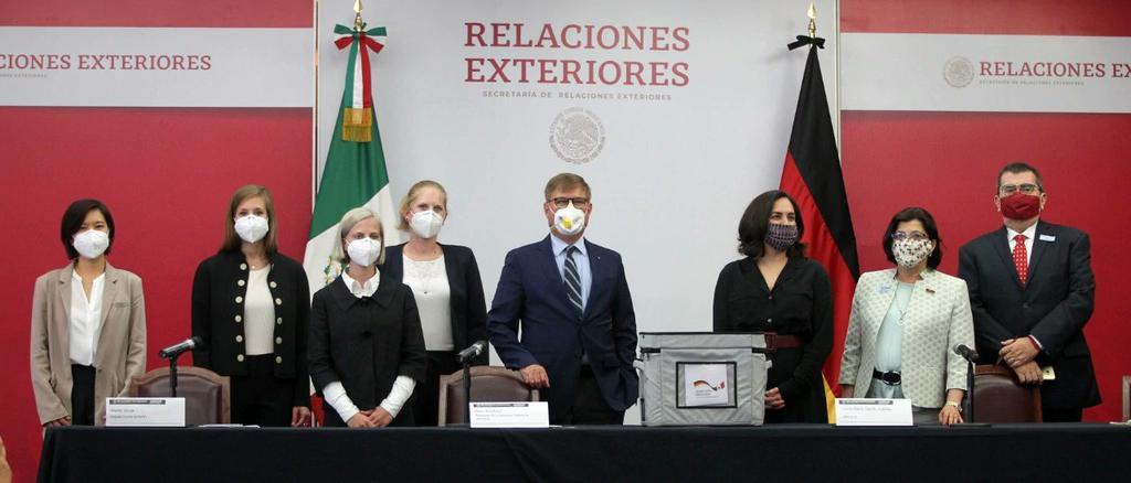 ALEMANIA DONA A MÉXICO 100 MIL PRUEBAS PARA DETECTAR COVID-19