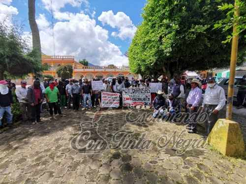 SURGEN AUTODEFENSAS EN CALCAHUALCO
