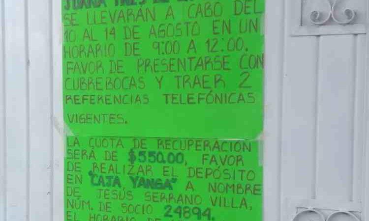 DENUNCIAN IMPOSICIÓN DE CUOTA ESCOLAR EN TELESECUNDARIA DE COSCO