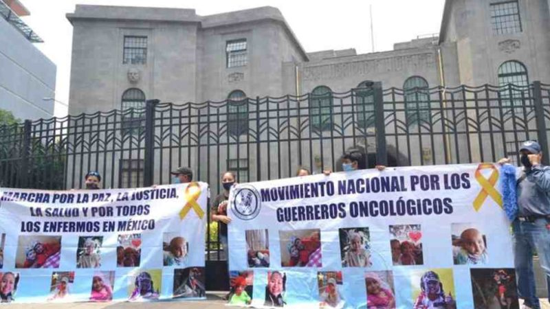 SE CUMPLE UN AÑO DE DESABASTO DE MEDICAMENTOS CONTRA EL CÁNCER