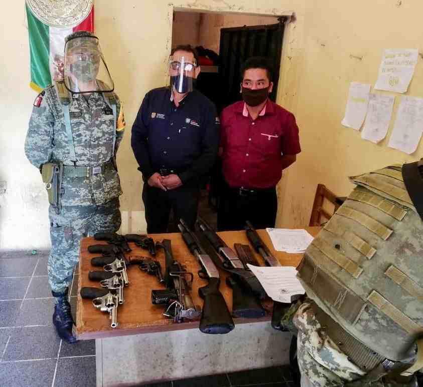 RELEVA SSP A POLICÍA MUNICIPAL EN COETZALA