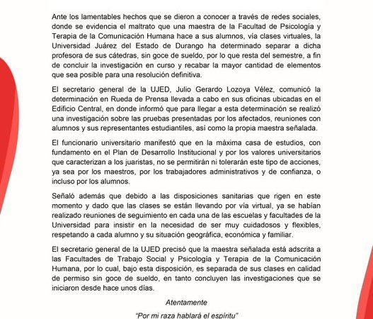 """""""¡UBÍCATE, NIÑO!""""; MAESTRA GRITA A ALUMNO EN CLASE EN LÍNEA Y LA CESAN"""