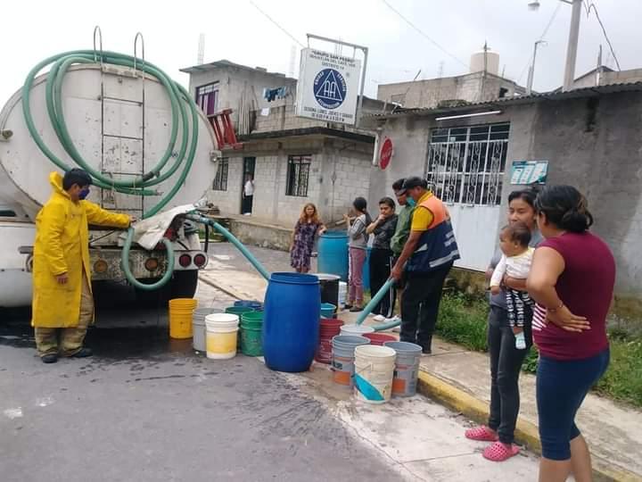ACTIVA AYUNTAMIENTO DE IXHUATLÁN TANDEO DE AGUA CON PIPAS