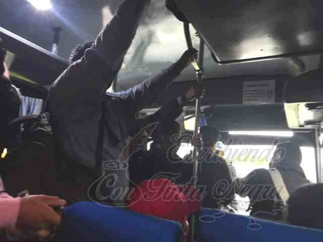 AUTOBUSES TERRANOVA PONE EN RIESGO A USUARIOS