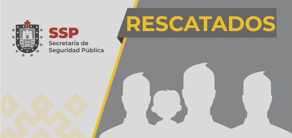RESCATAN A 4 SECUESTRADOS