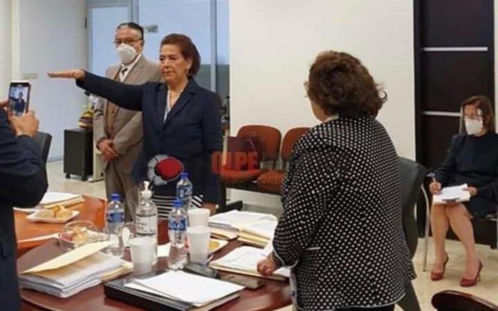 DESTITUYEN A PRESIDENTA DEL TRIBUNAL SUPERIOR DE JUSTICIA