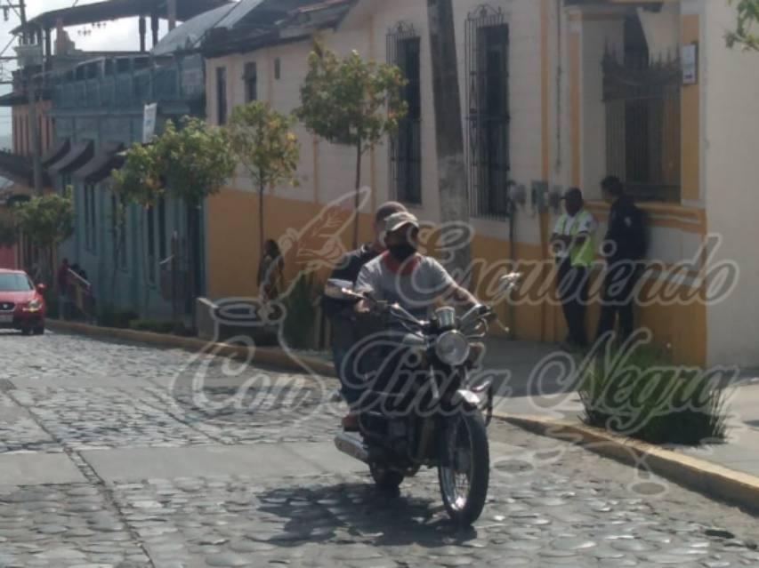 REGLAMENTO DE TRÁNSITO, LETRA MUERTA EN COSCOMATEPEC