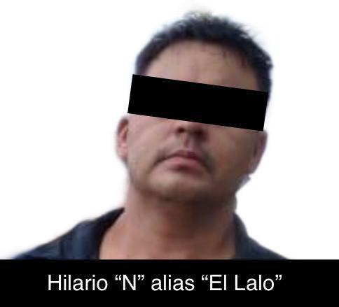 """DETIENEN A """"EL LALO"""""""
