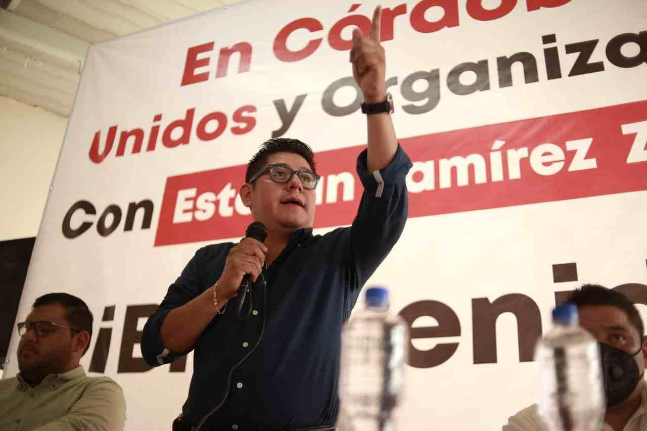 EL PUEBLO NOS AYUDARÁ A ELEGIR AL MEJOR DIRIGENTE ESTATAL: ESTEBAN R. ZEPETA