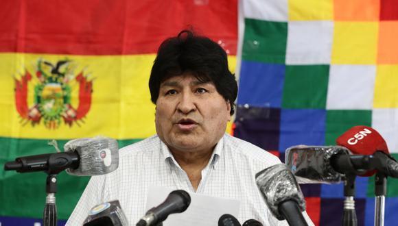 BOLIVIA ANULA LA ORDEN DE DETENCIÓN CONTRA EL EXPRESIDENTE EVO MORALES