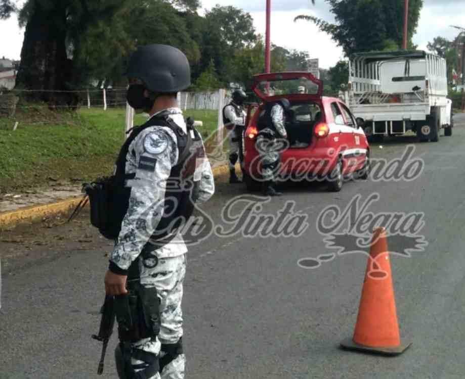 AUMENTA PRESENCIA DE FUERZAS FEDERALES EN HUATUSCO