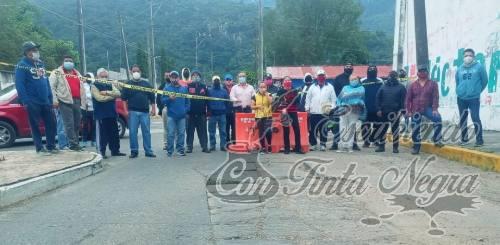 PROTESTAN CONTRA ALCALDE DE CIUDAD MENDOZA