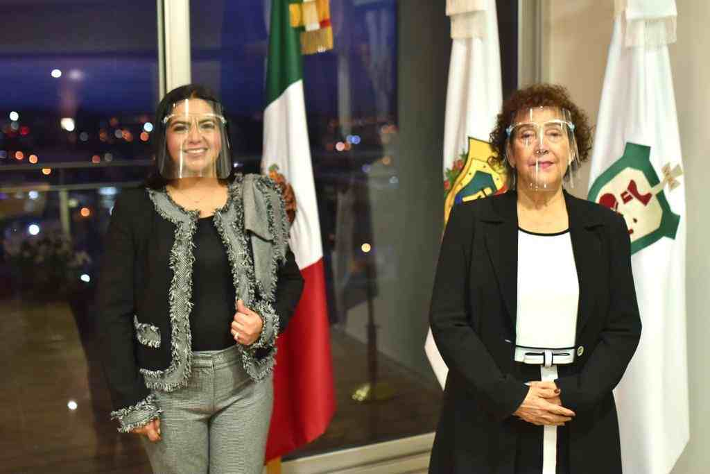 SE REUNE PRESIDENTA DEL CONGRESO CON TITULAR DEL TRIBUNAL SUPERIOR DE JUSTICIA