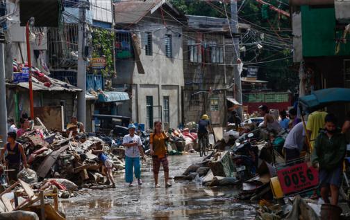 TIFÓN VAMCO CAUSA 39 MUERTES EN FILIPINAS