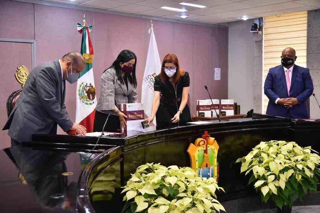 RECIBE CONGRESO SEGUNDO INFORME DE GOBIERNO