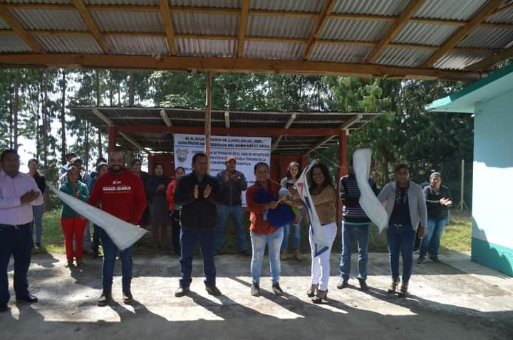 ARRANCA OBRA EDUCATIVA EN TECUANAPILLA