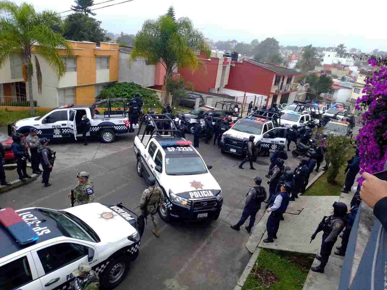 ESTALLA CONFLICTO ENTRE POLICIAS DE IPAX Y SSP