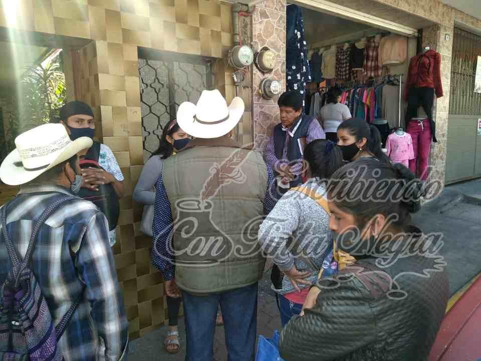 LIBERAN ACCESO A TEMPLO, ESCUELAS Y UNIDAD DE SALUD EN ALPATLÁHUAC